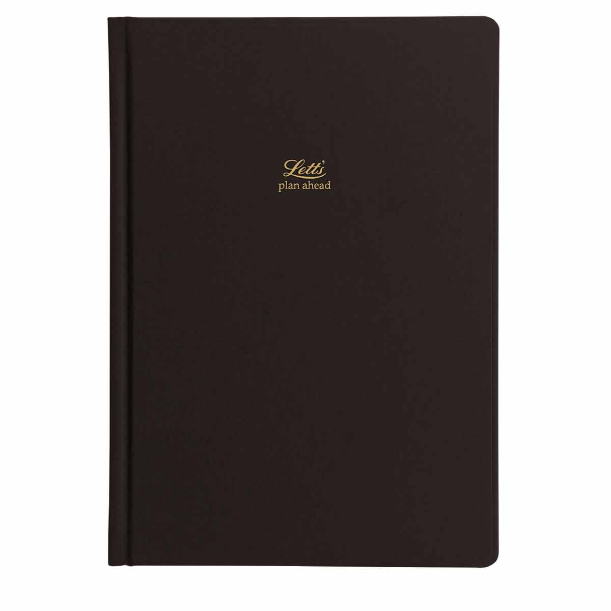 Letts Icon A5 Five Year Diary Black