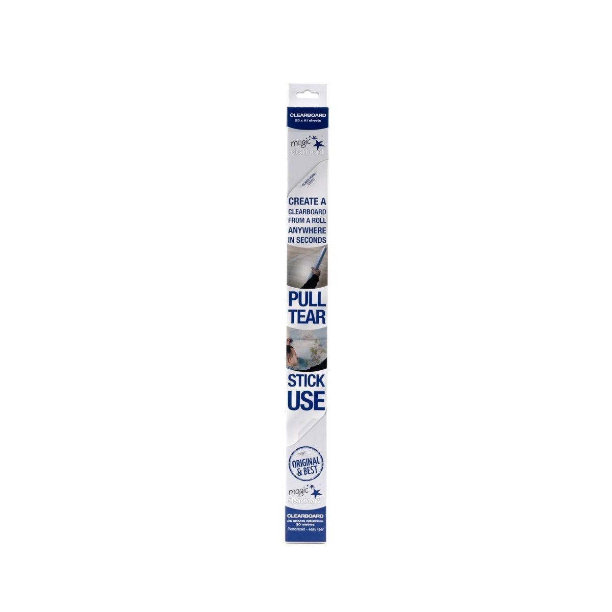 Magic Clearboard 25 Sheet Roll A1