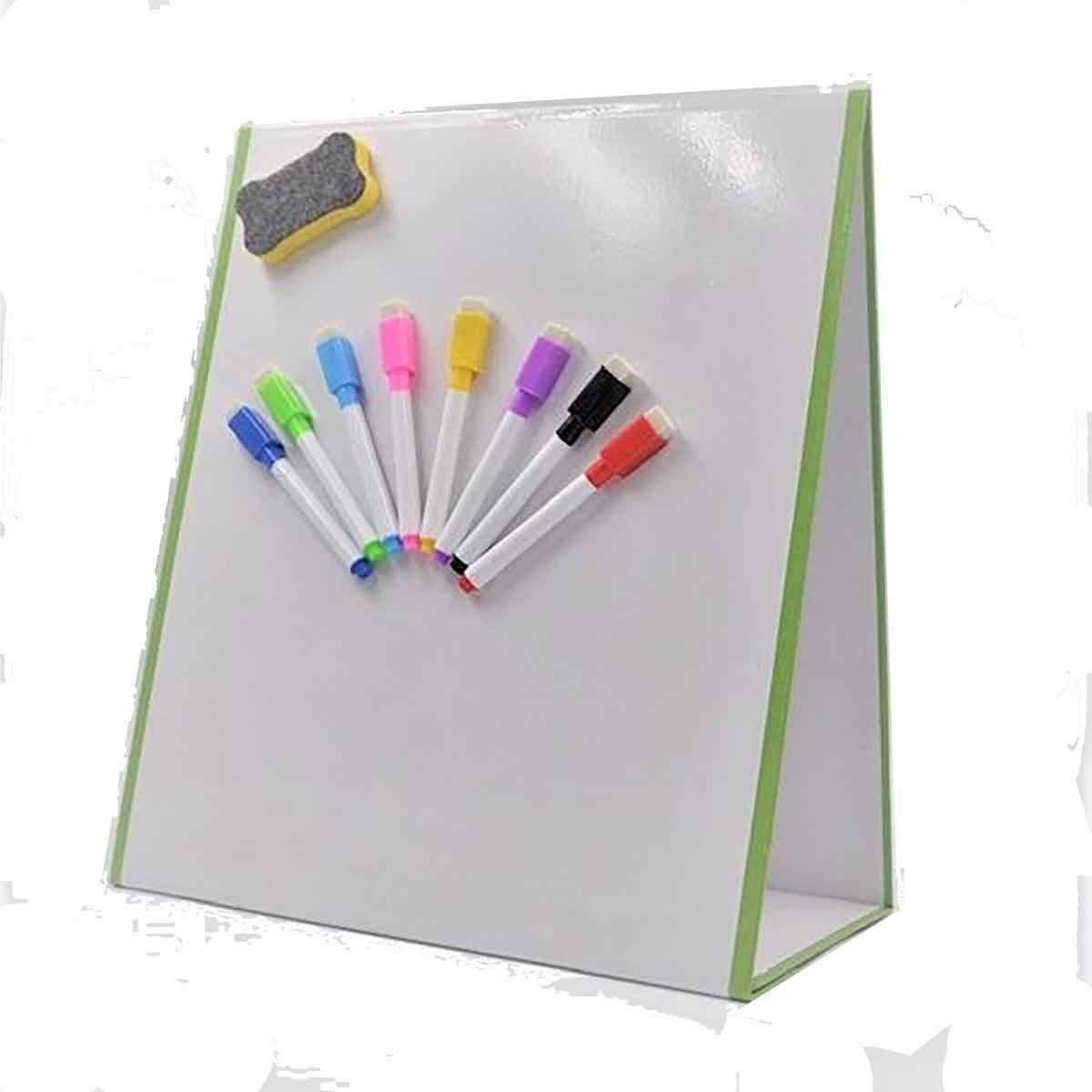 Magnetic Whiteboard Folding Tabletop Easel