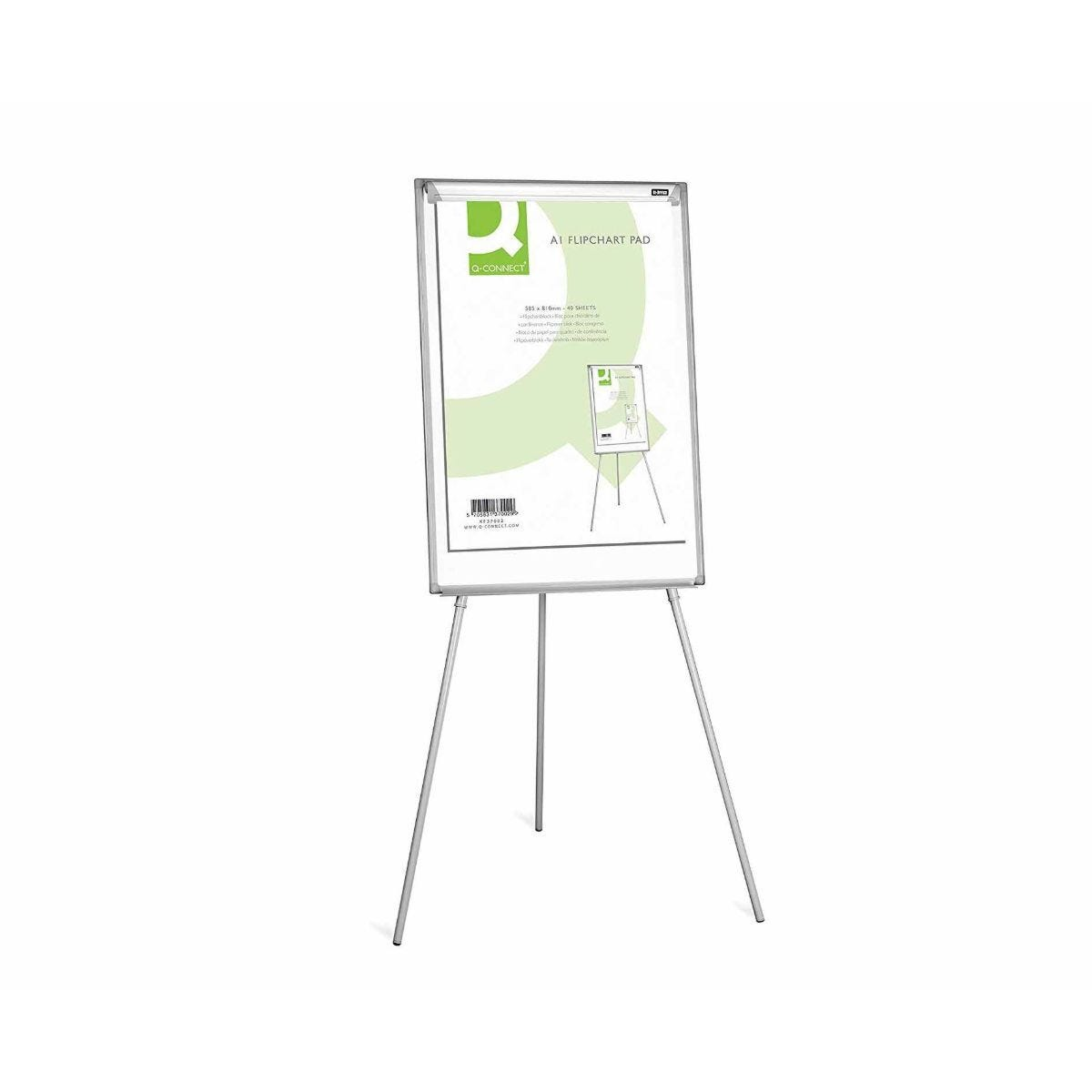 Q-Connect Flipchart Pad A1 40 Sheets Pack of 5