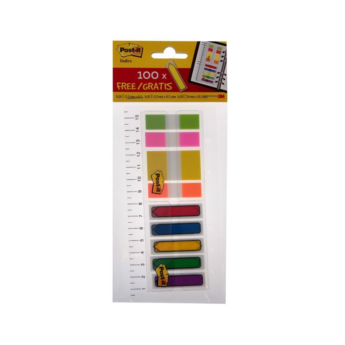 Post-It  Index Ruler