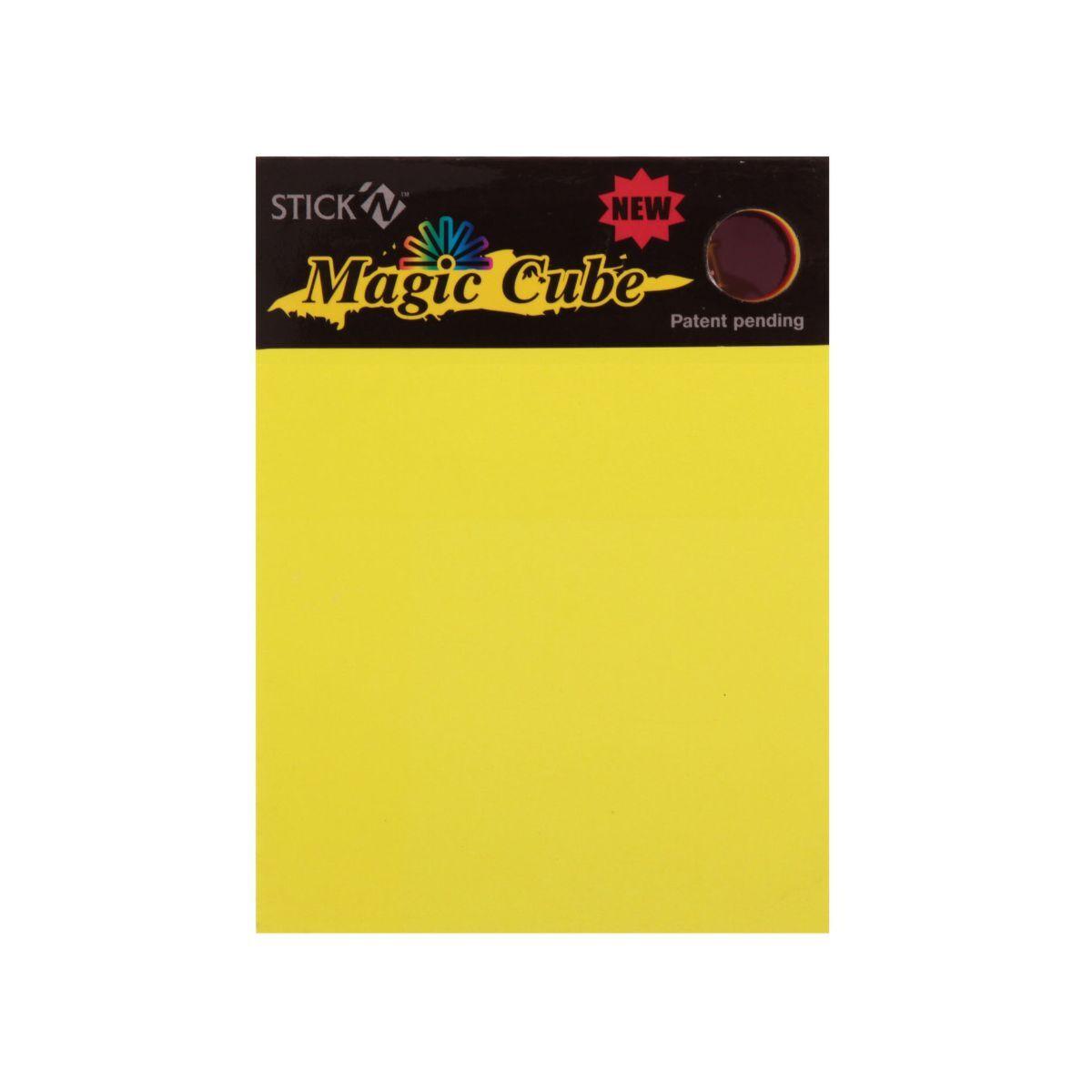 Stick N Magic Cube 101x76mm 280 Sheets 7 Colours