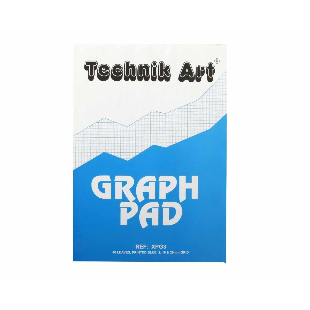 Technik Art Graph Pad A4 40 Sheets