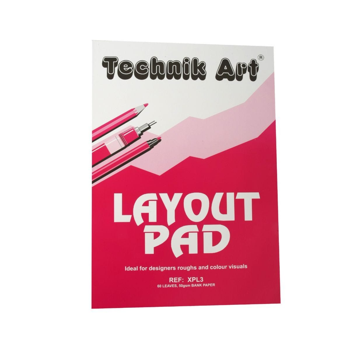 Technik Art Layout Pad A3 50gsm 60 Sheets