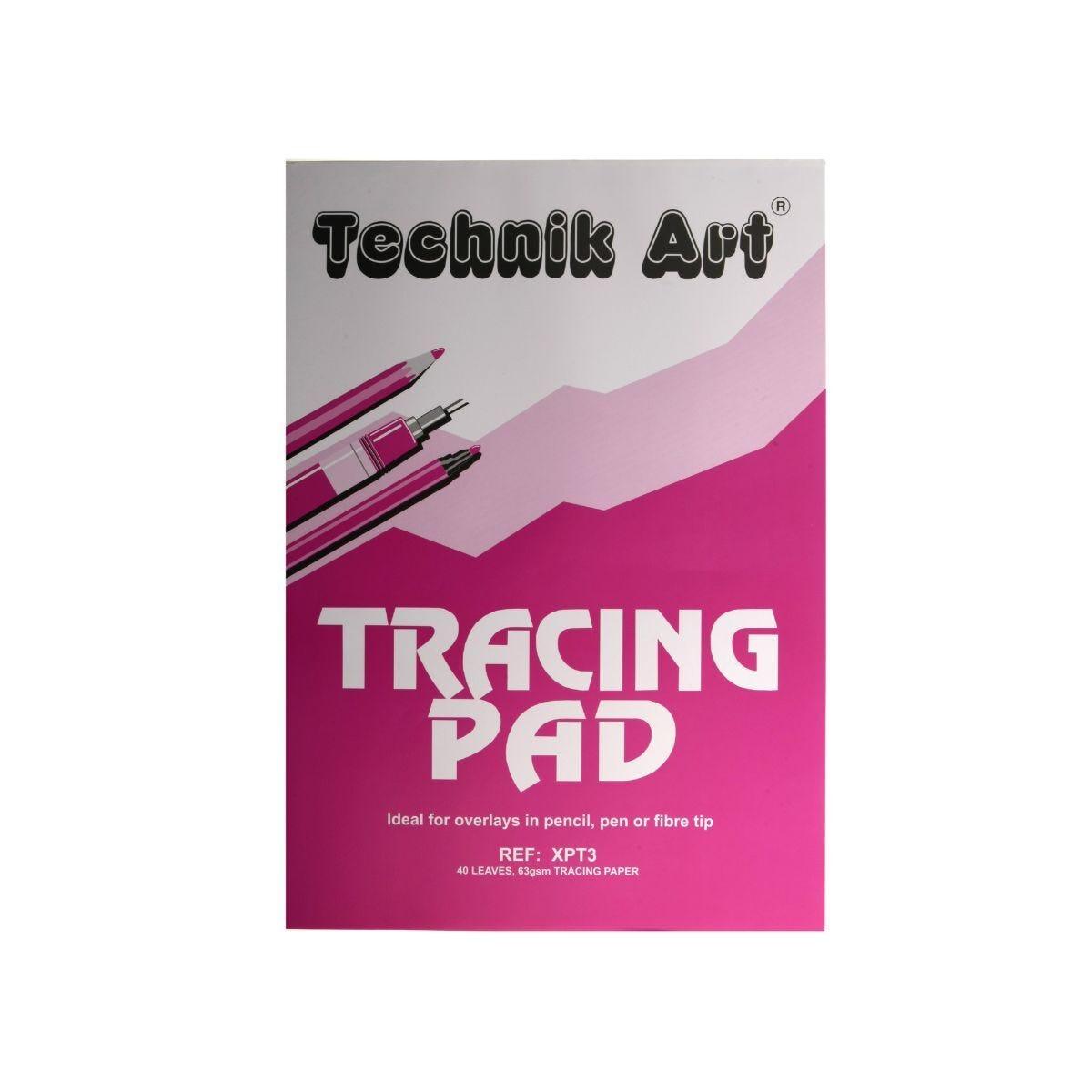 Technik Art Tracing Pad A3 63gsm 40 Sheets