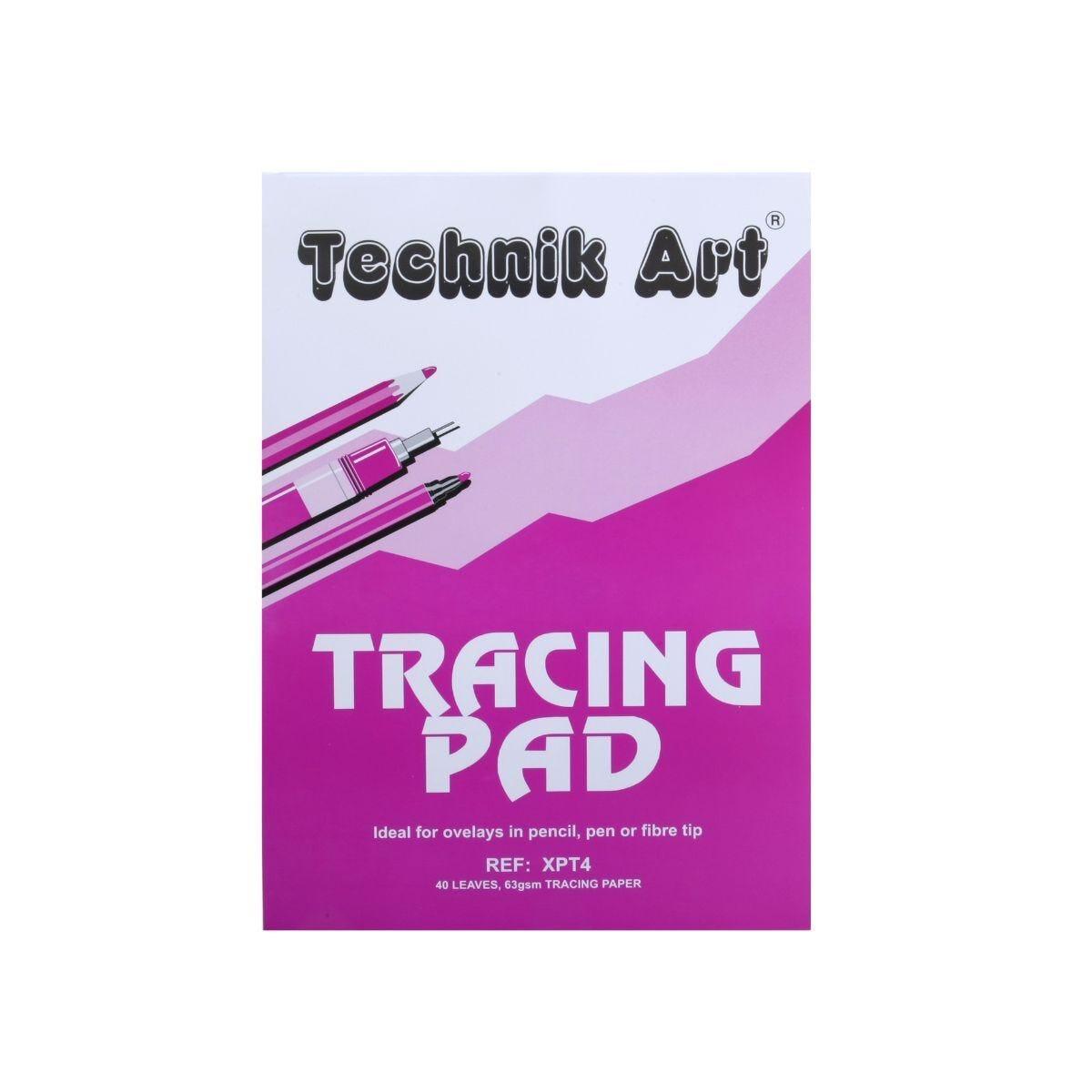 Technik Art Tracing Pad A4 63gsm 40 Sheets
