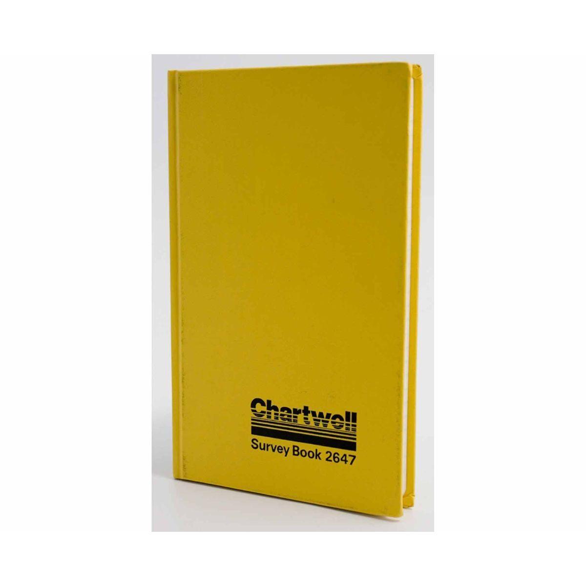 Chartwell 2647 Mining Transit Survey Book 192x120mm