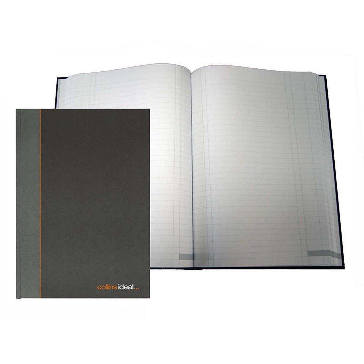 Collins Ideal Case Bound Single Cash Book A4