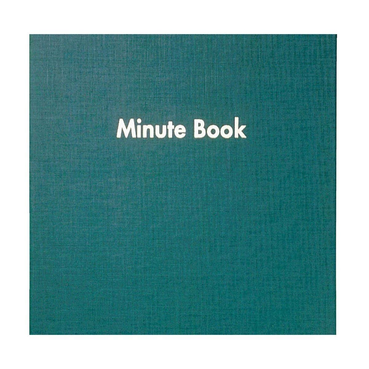 Minute Book Bound 80 Sheets 160 Pages