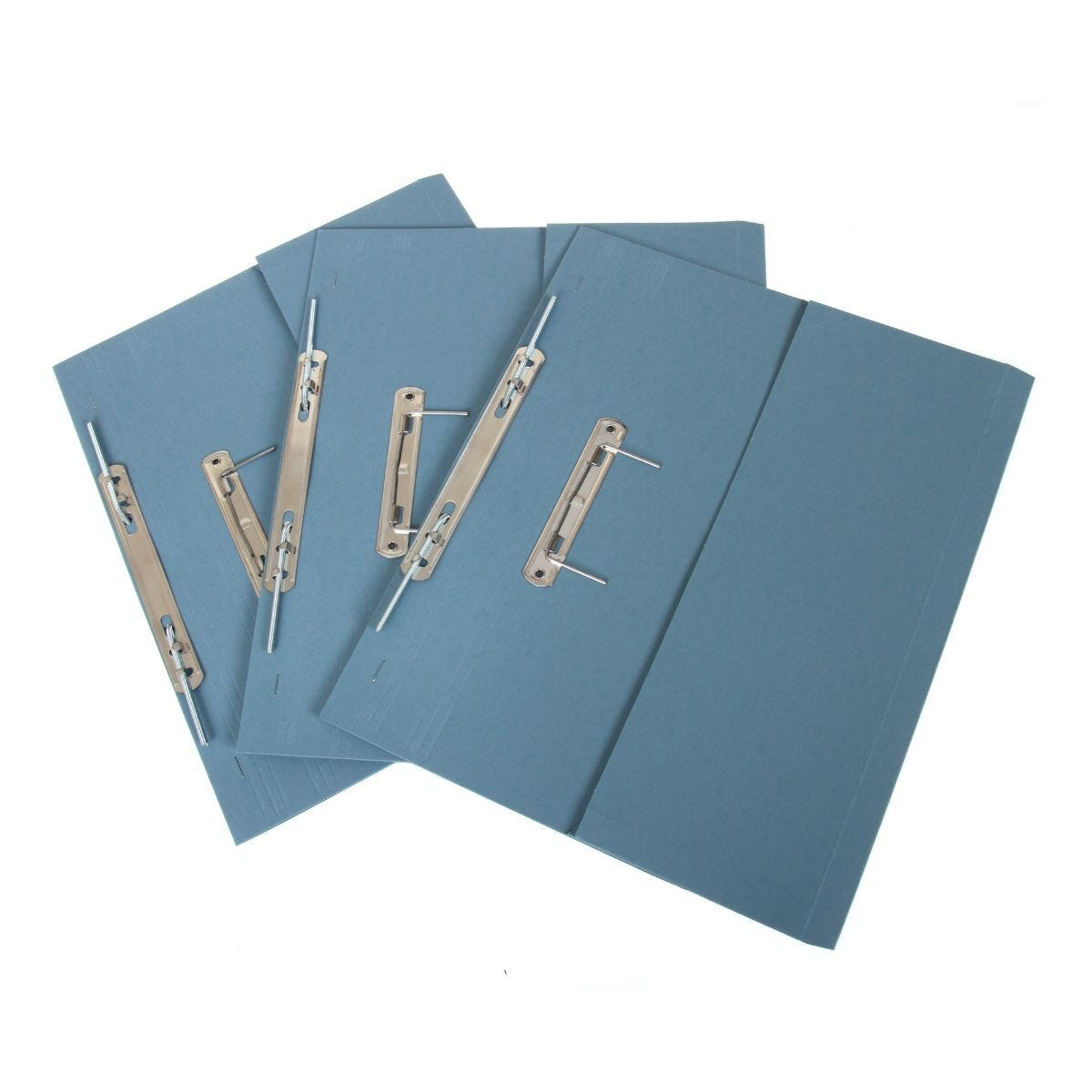 Super Heavyweight Spiral File Pack of 25 420GSM Blue