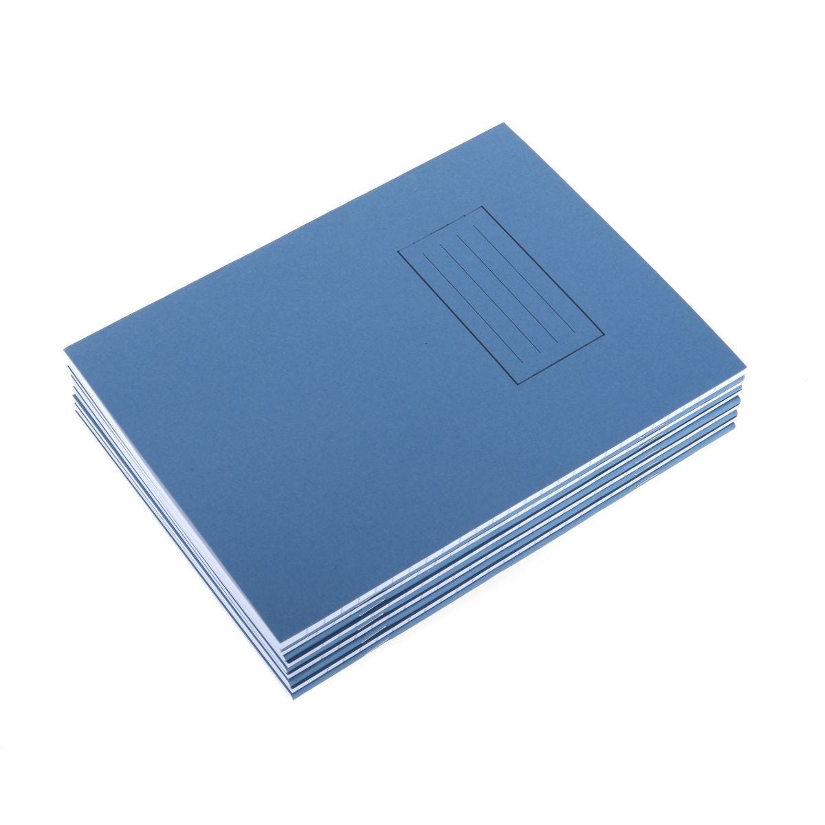 Silvine Exercise Book 9x7 75gsm Pack of 10 Blue