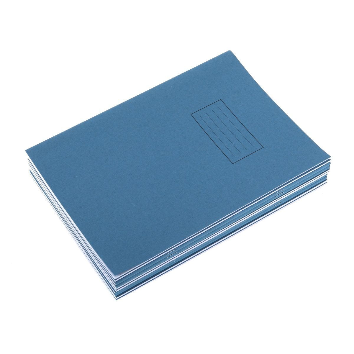 Silvine Exercise Book A4 Ruled 75gsm Pack of 10 Blue