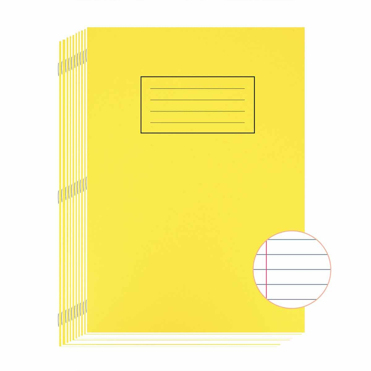Silvine Exercise Book A4 80 Page Ruled 75gsm Pack of 10