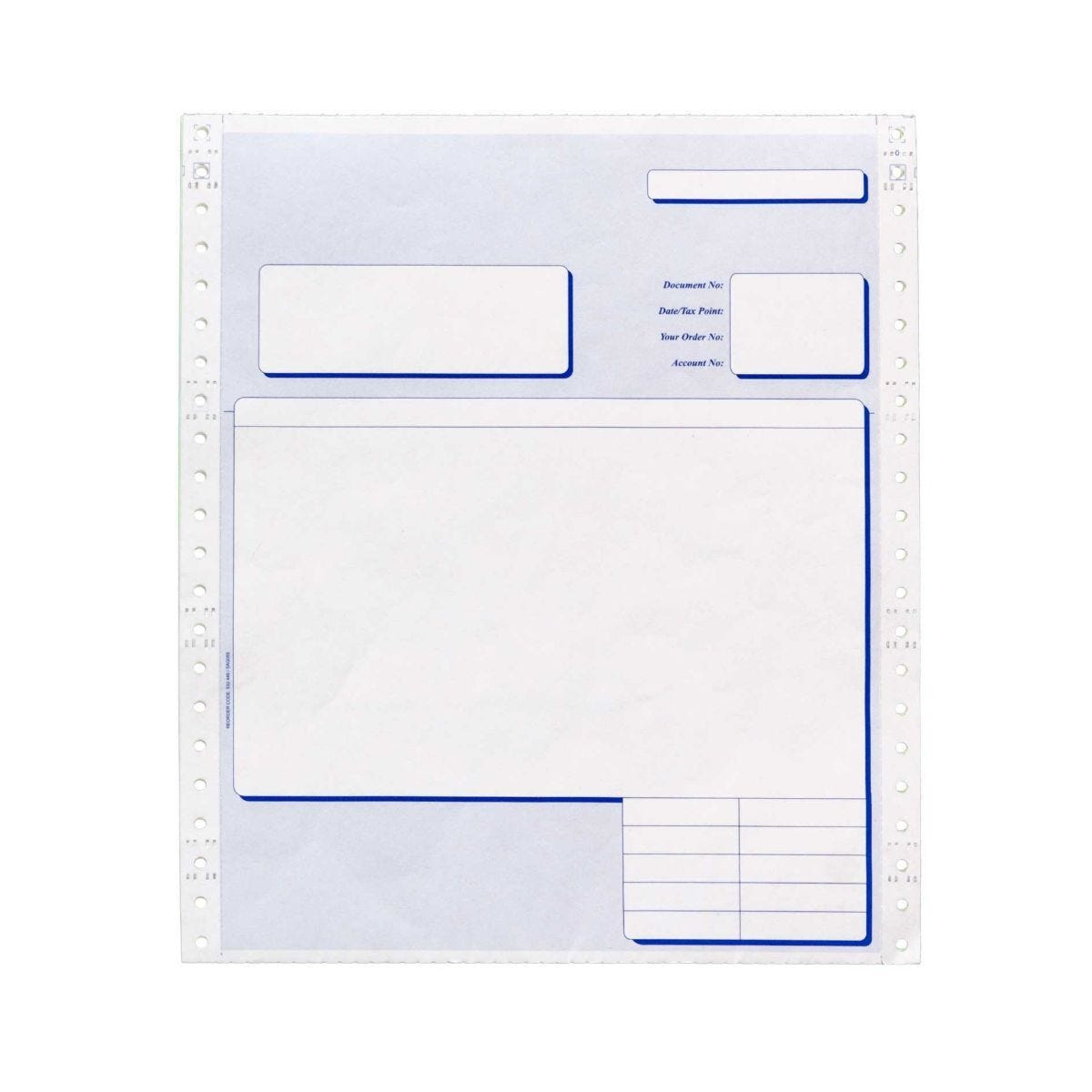 Pukka 4 Part Invoice and Delivery Note Pack of 500