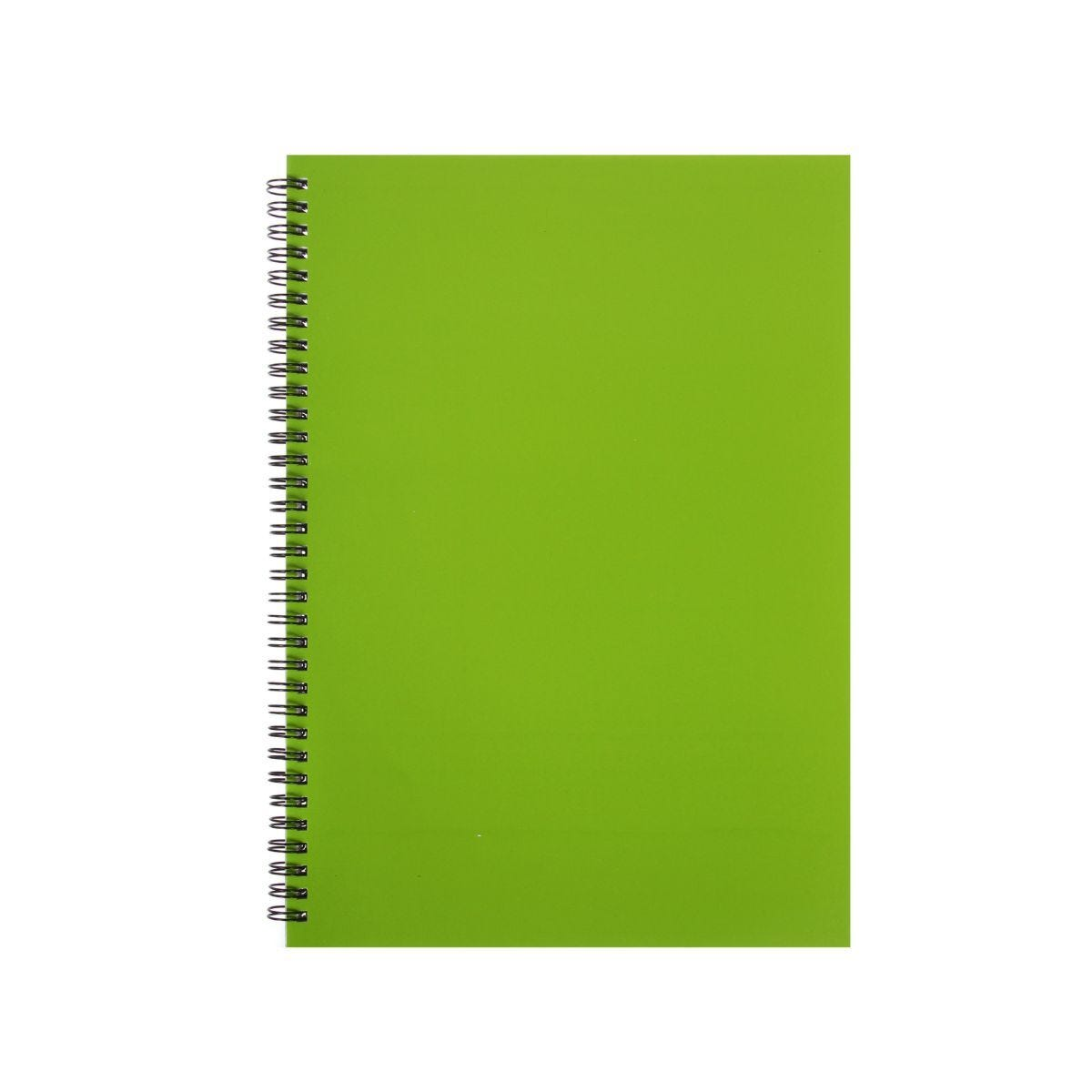 Ryman Essentials Notebooks A4 80 sheets Lime Green