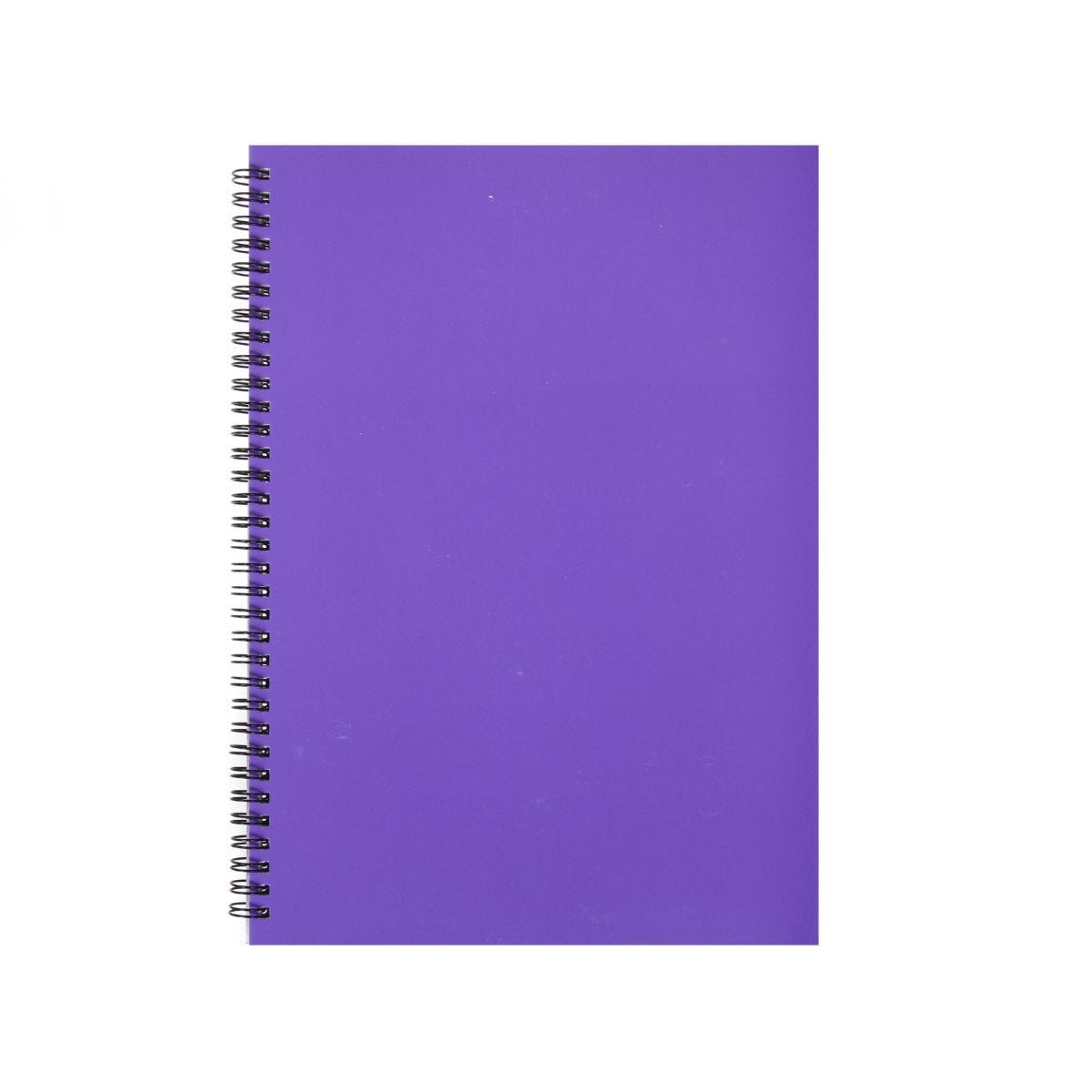 Ryman Essentials Notebooks A4 80 sheets Purple