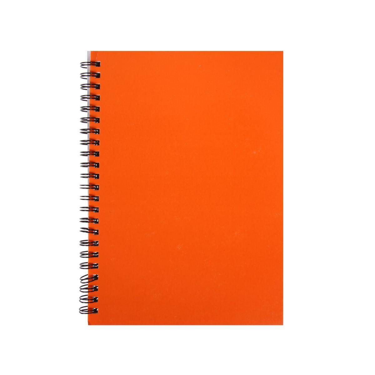 Ryman Essentials Notebooks A5 Ruled 80 Sheets Orange