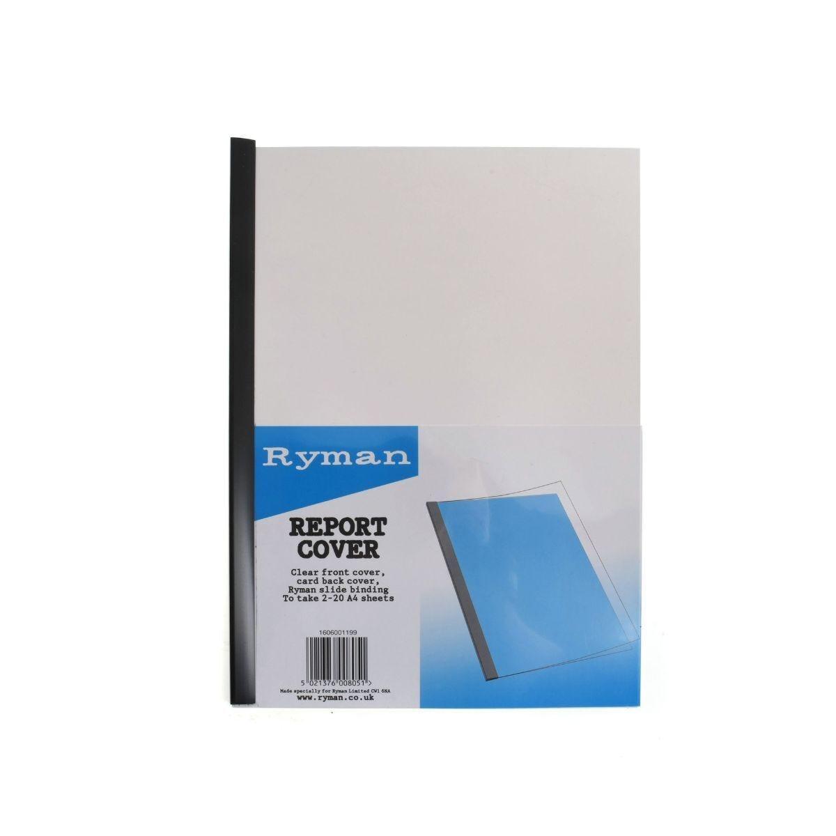Ryman Report Covers A4 20 Sheet Capacity