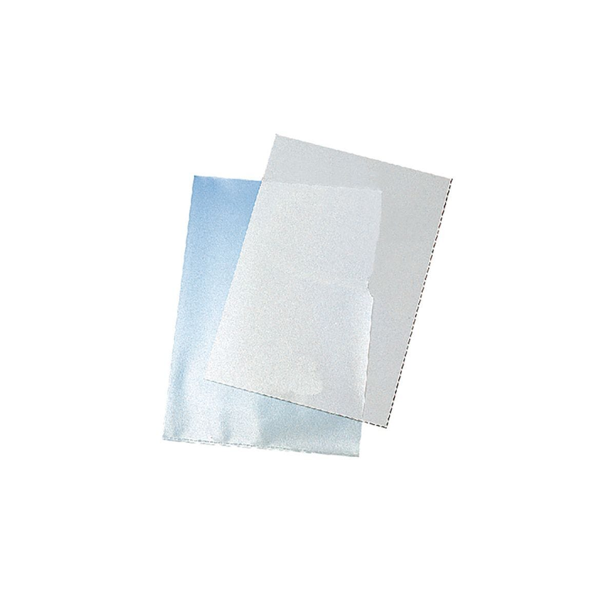 Q-Connect Clear Cut Flush Folders Pack of 100