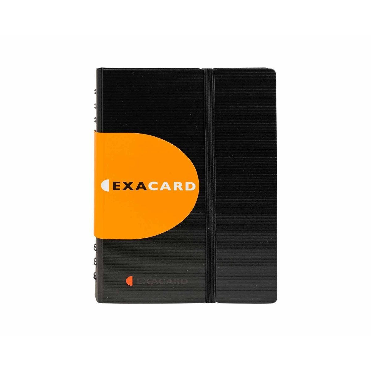 Exacompta Exacard Business Card Holder Pack of 5 Black