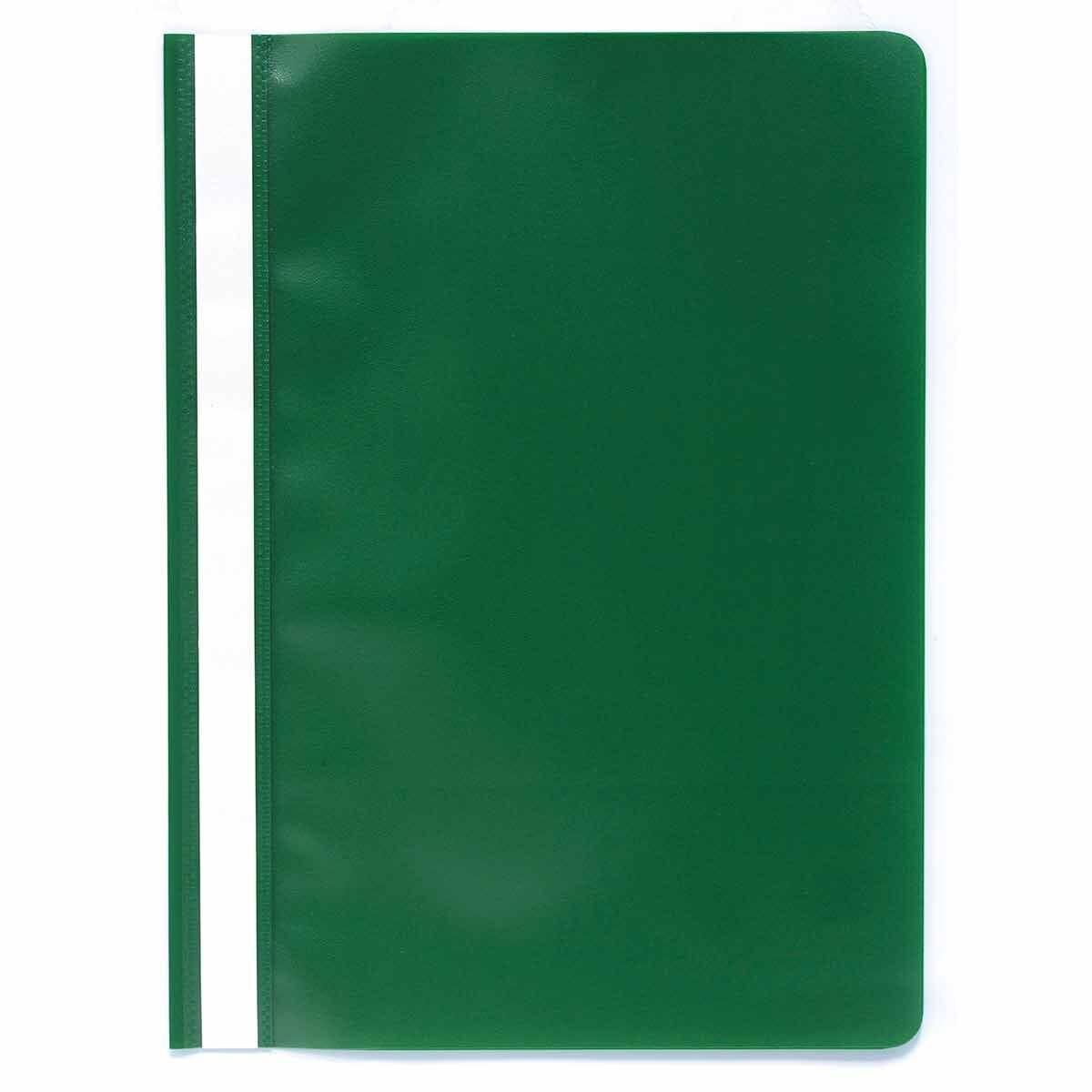 Exacompta Flat Bar Folder A4 Pack of 25 Purple Green