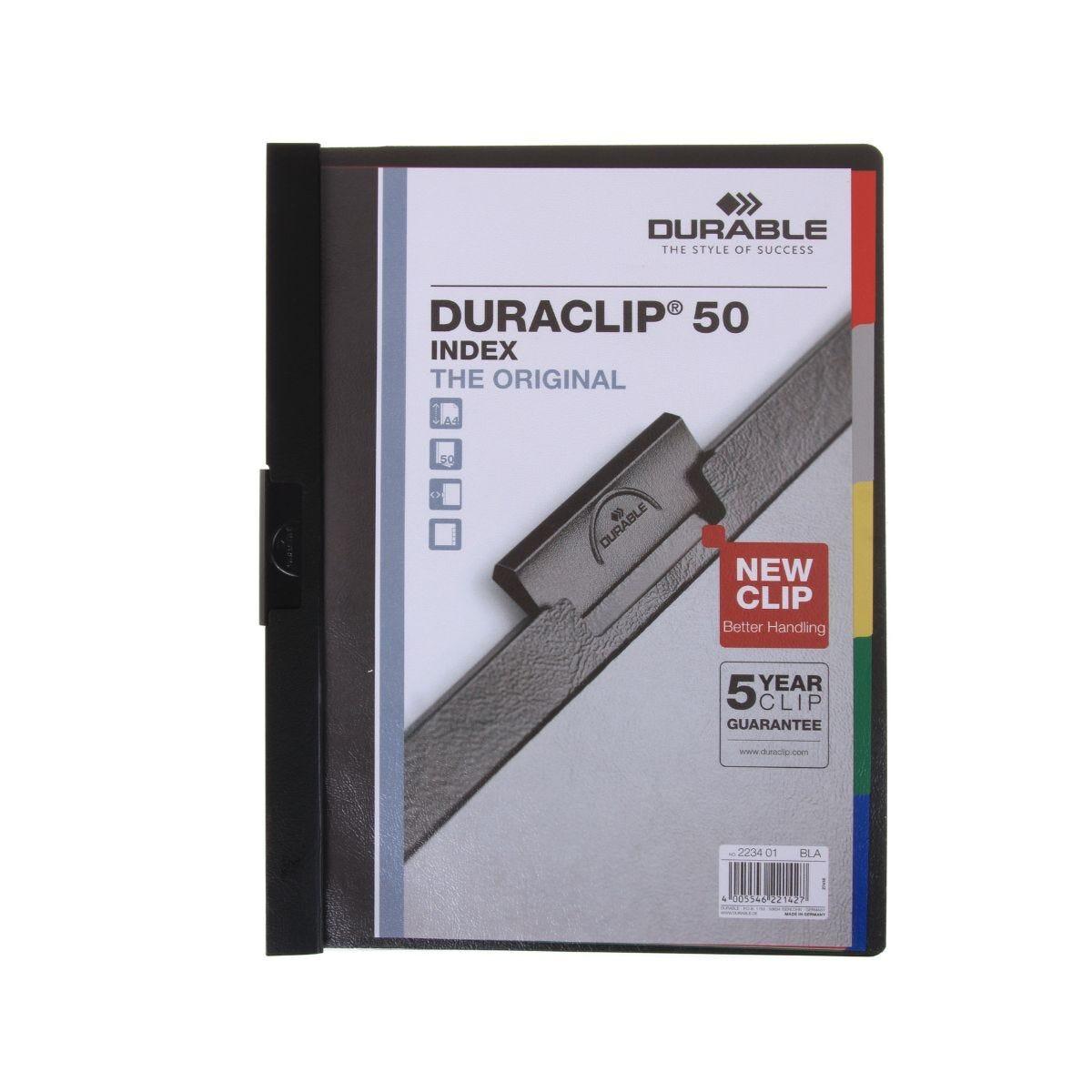 Duraclip 50 A4 Clip File