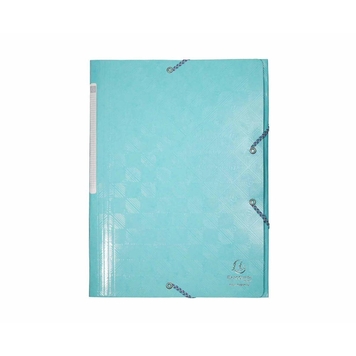 Exacompta Kreacover 3 Flap Folder A4 Pack of 25 Blue