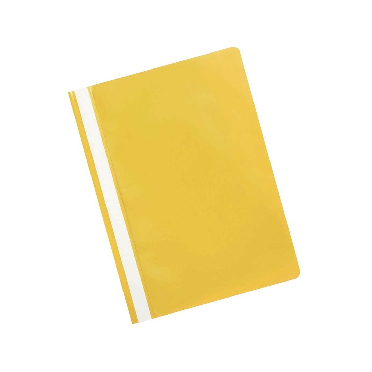 Q-Connect Project Folder A4 Yellow