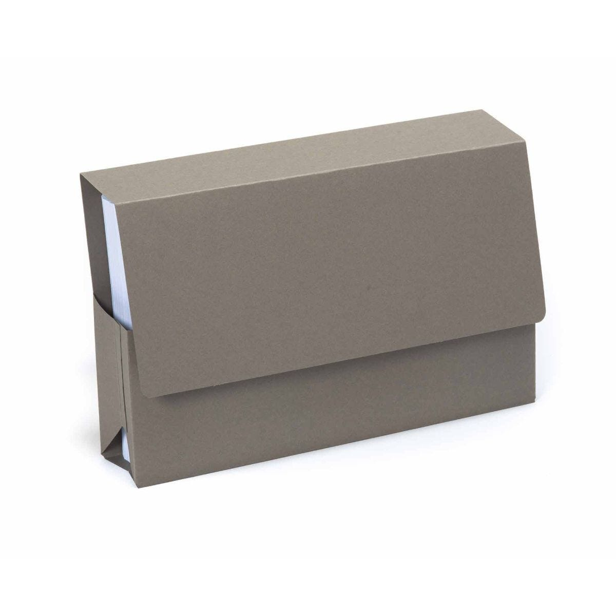 Exacompta Guildhall Probate Document Wallet Foolscap Pack of 25 315gsm Grey