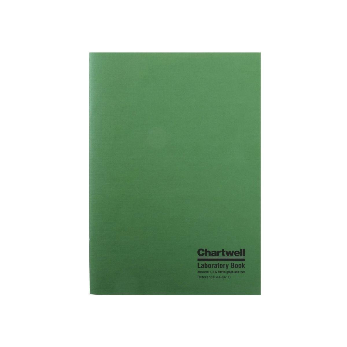 Chartwell Laboratory Book A4 1, 5 & 10 mm Softback