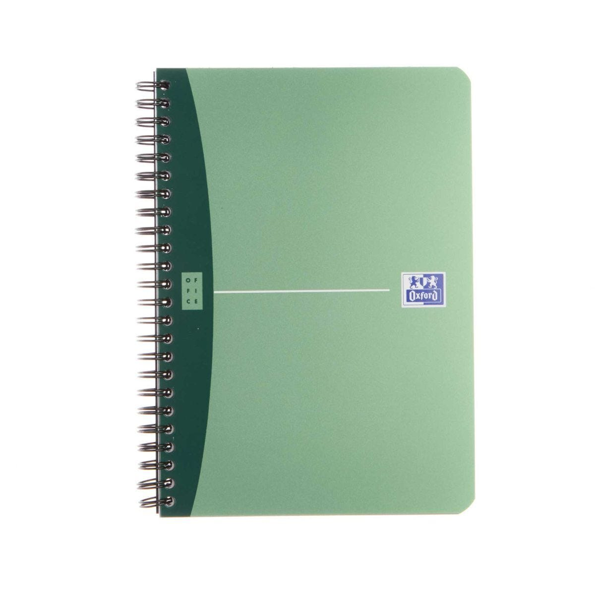Oxford Office Pad A5 Metallic 180 Pages 90 Sheets Assorted Colours