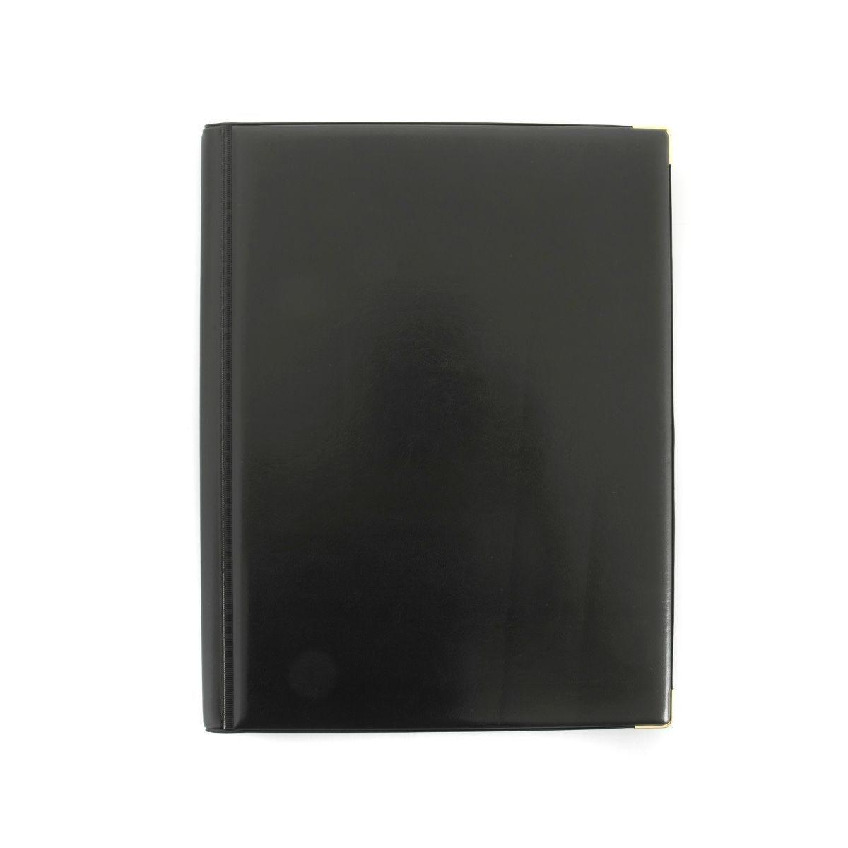 Ryman Deluxe Display Book A4 12 Pockets Black