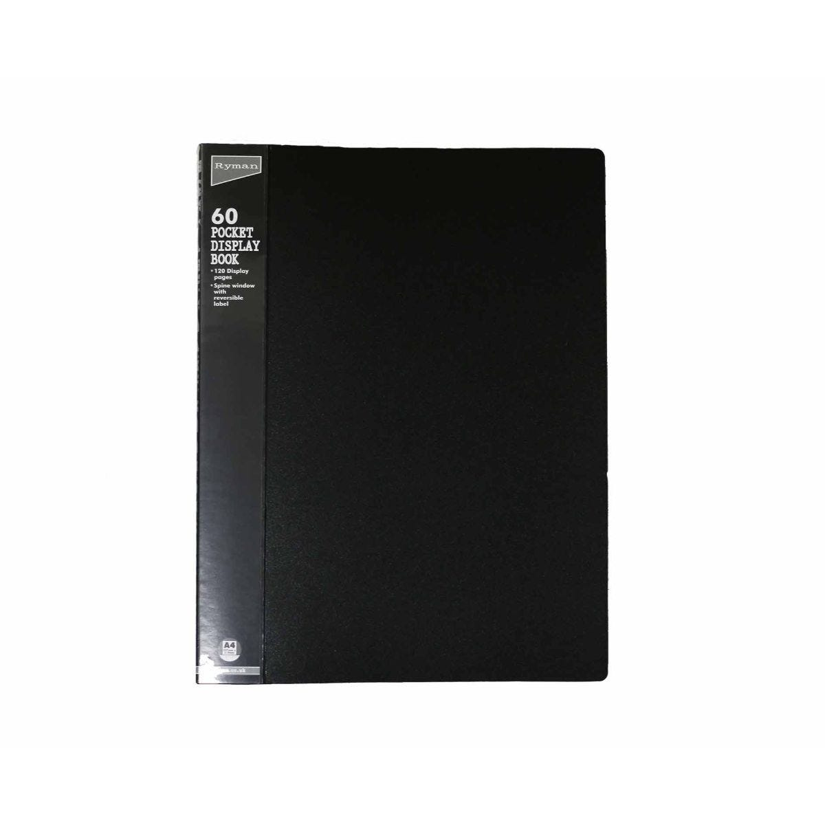 Ryman Easyview Display Book A4 60 Pockets