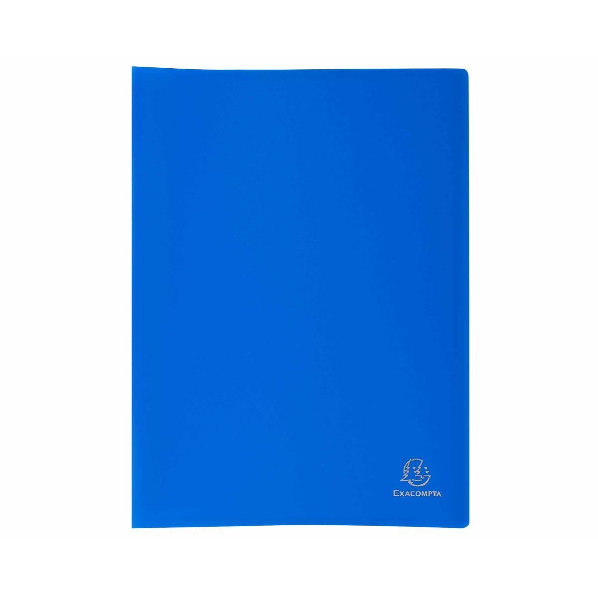 Exacompta A4 Display Book 100 Pockets Pack of 8 Blue