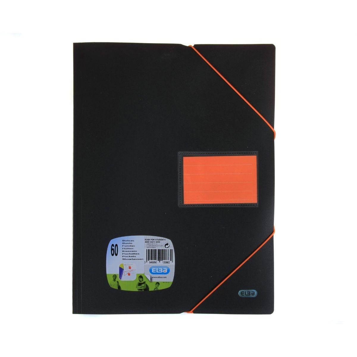 Elba Elasti Display Book A4 60 Pocket