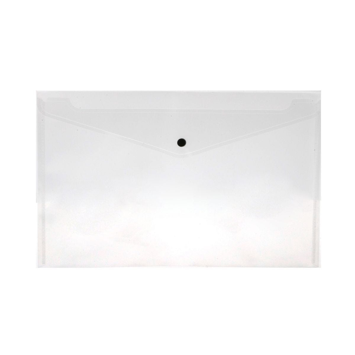 Ryman Carry Folders Foolscap Pack of 5 Clear