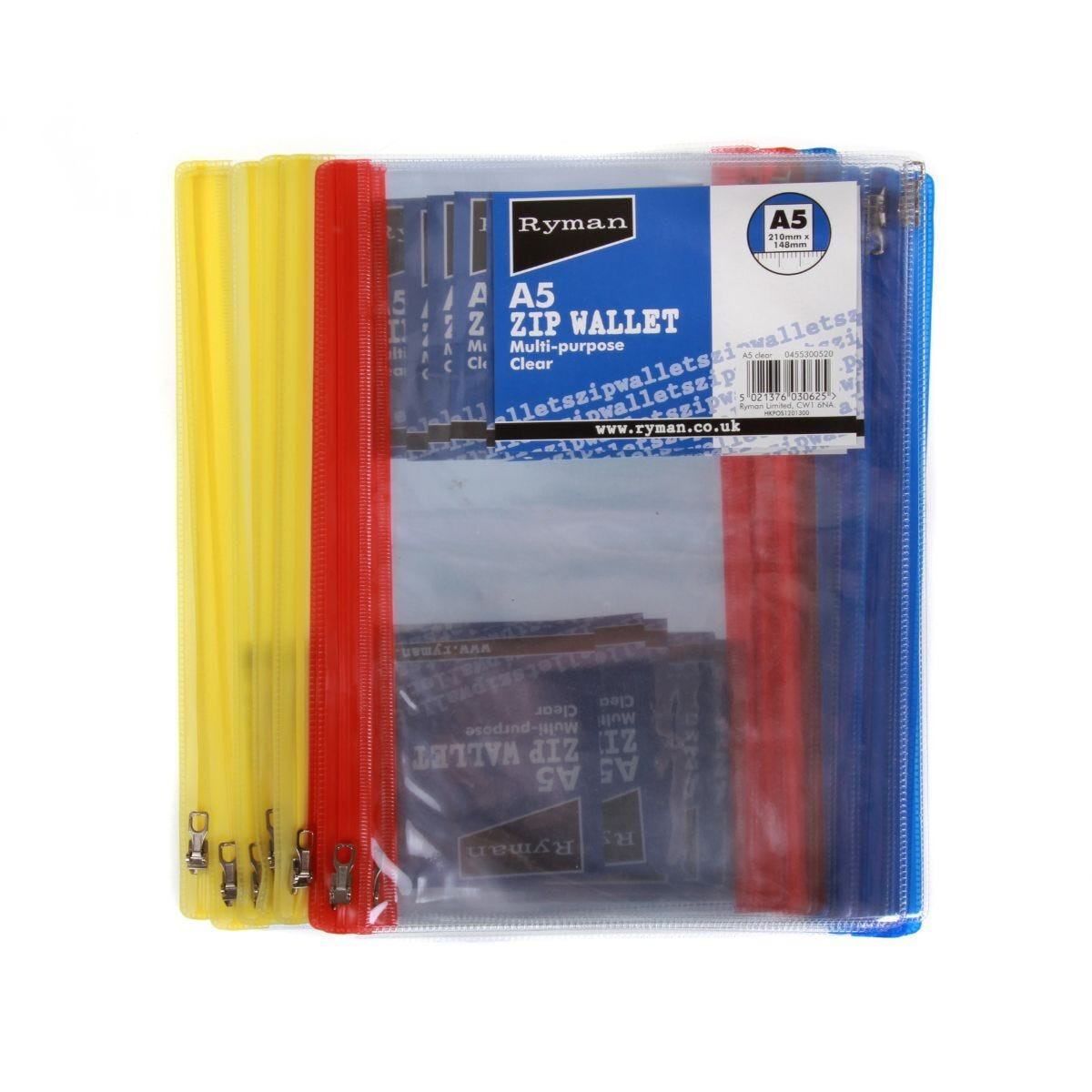 Ryman Zip Bag A5