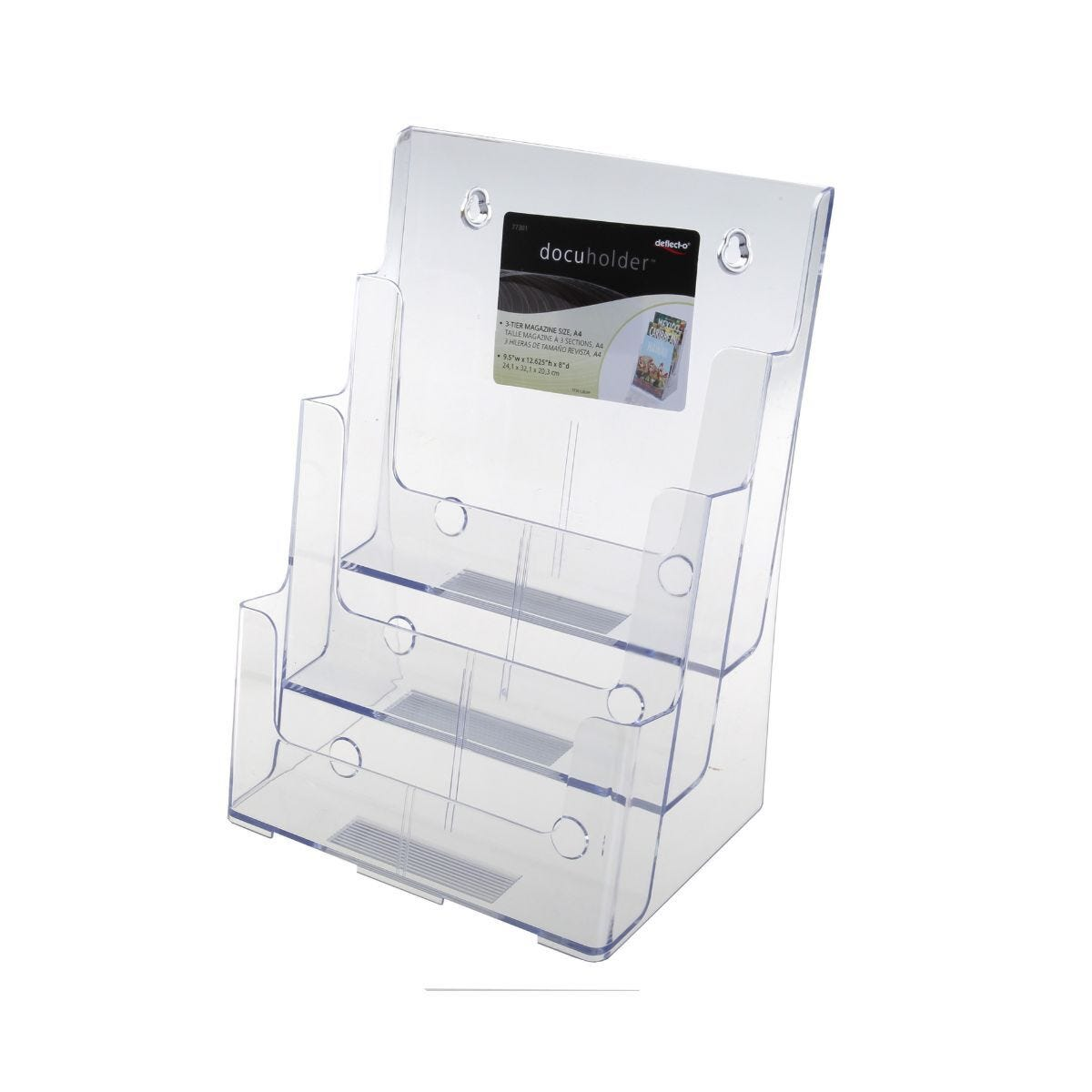 Deflecto Brochure Holder A4 3 Tier