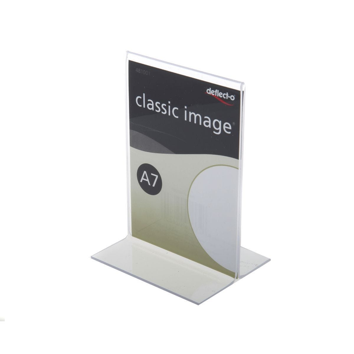 Mini Stand Up Sign Holder A7 Vertical
