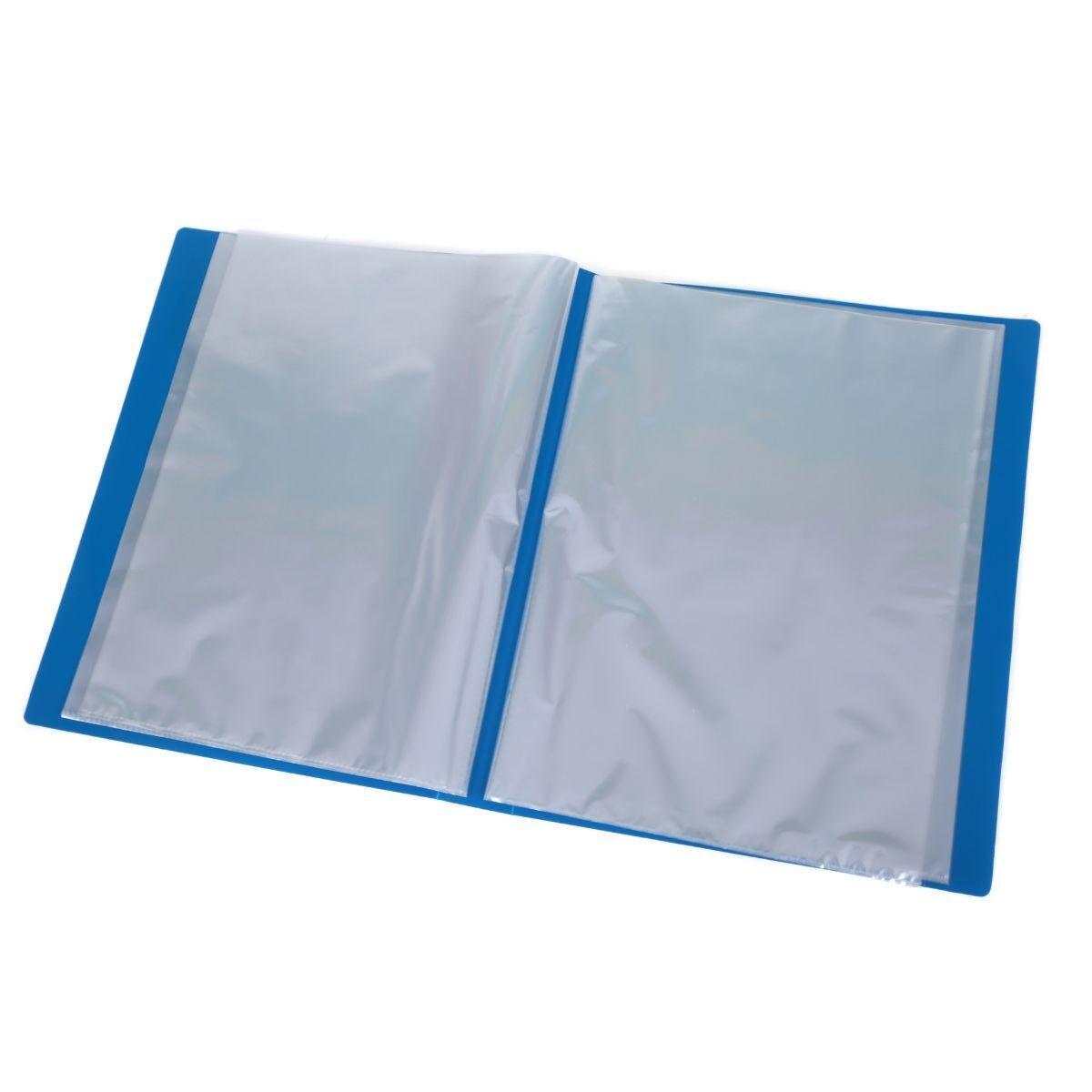 Ryman Display Book A4 40 Pocket Blue