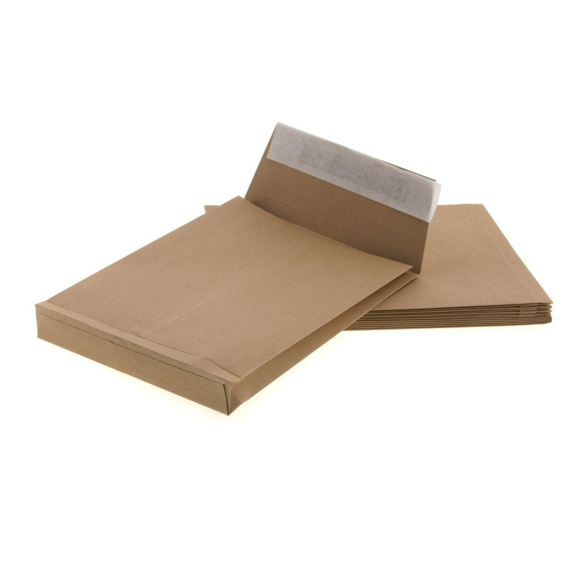 Ryman Heavy Duty Gusset Envelopes C5 130gsm Peel & Seal Pack of 10