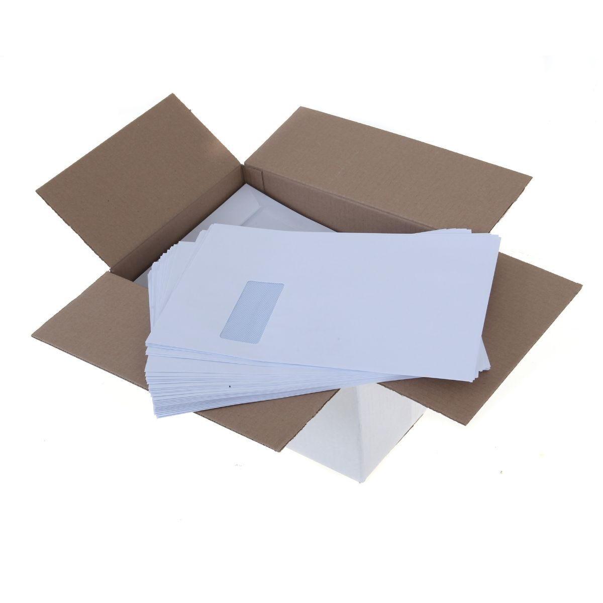 Ryman Window Envelopes C4 90gsm Peel and Seal Box of 250