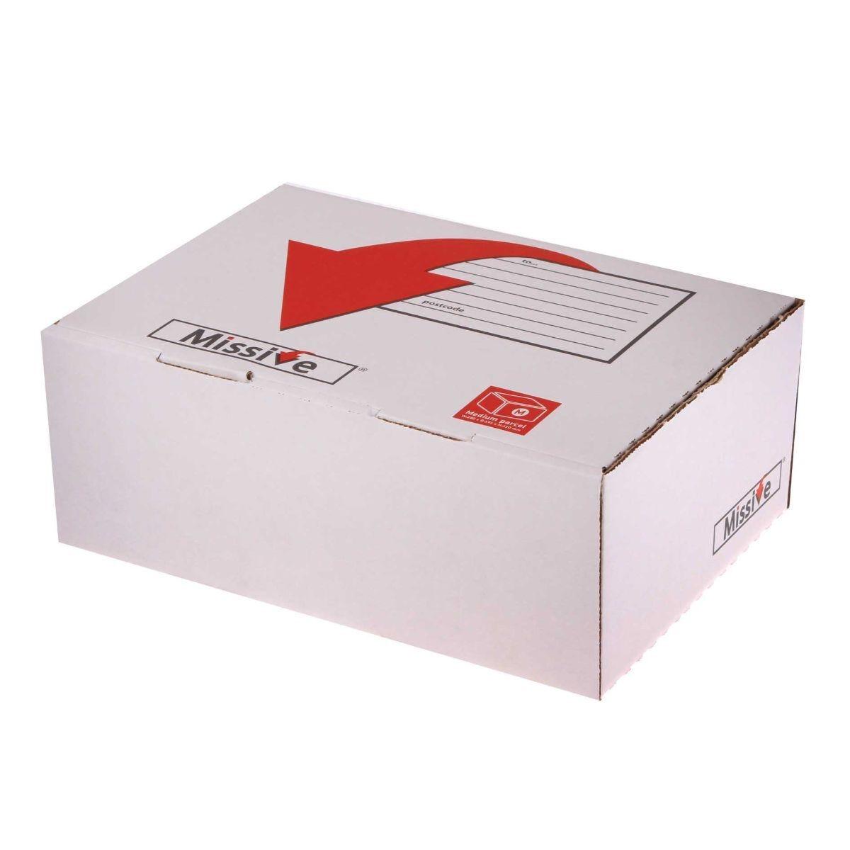 Missive Small Postal Box 280x195x110mm Pack of 20