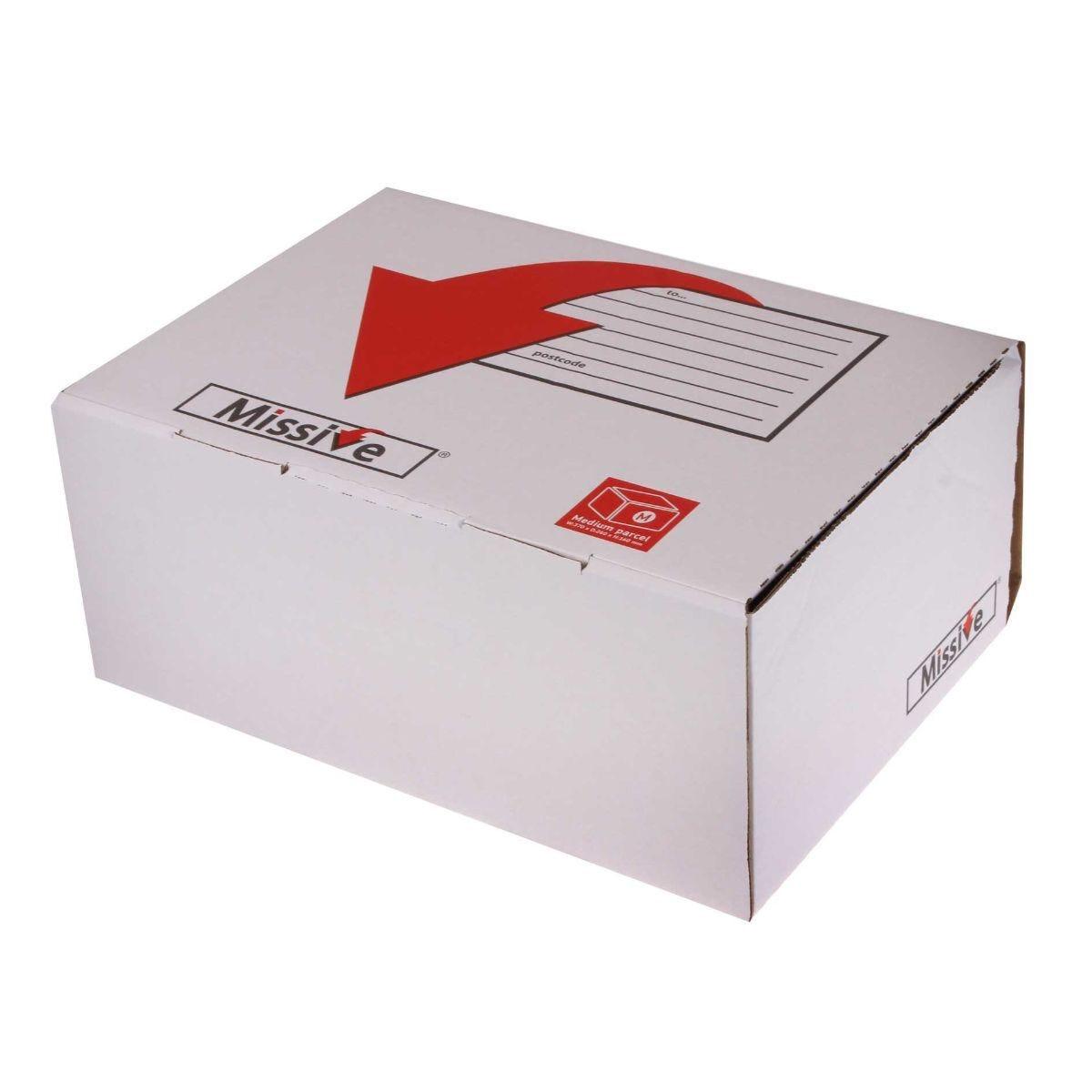 Missive Small Postal Box 350x250x160mm Pack of 20