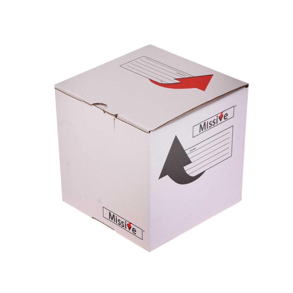 Missive Value Postal Box Small Cube 160x160x160mm Pack of 20