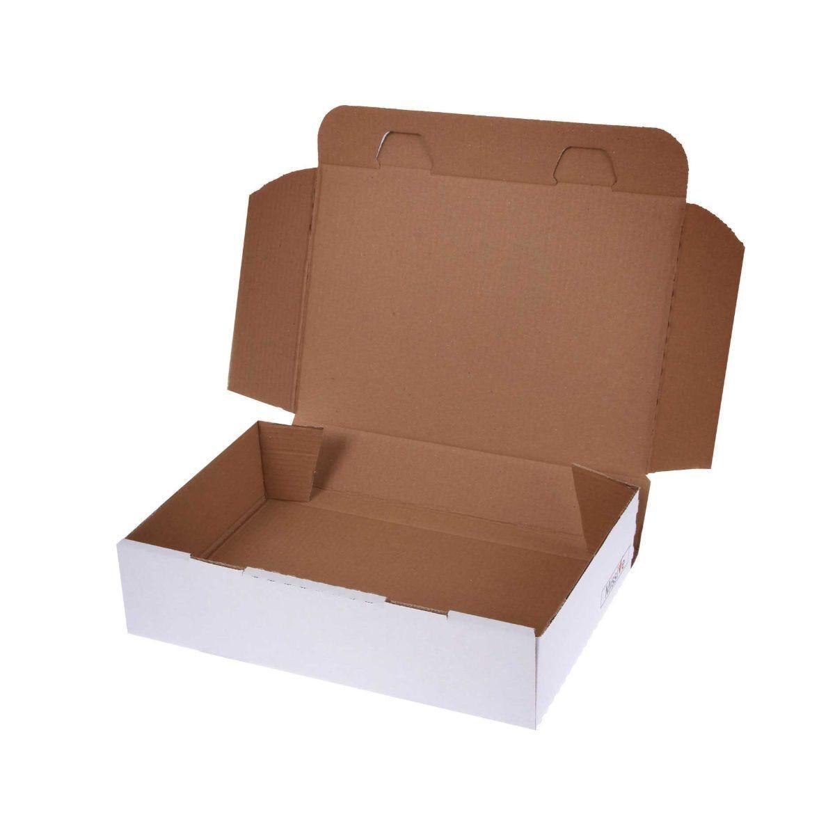 Missive Value Postal Box Half Small Parcel 318x222x80mm Pack of 20