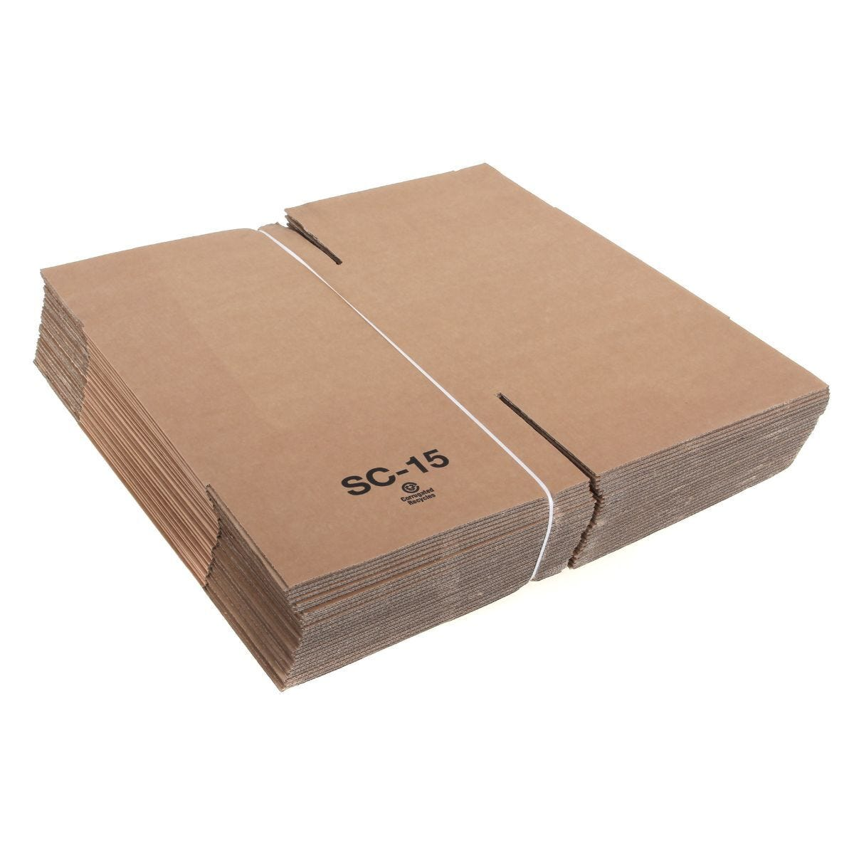 Posting Single Walled Carton Box 381x381x381mm Style 0201 Pack of 25