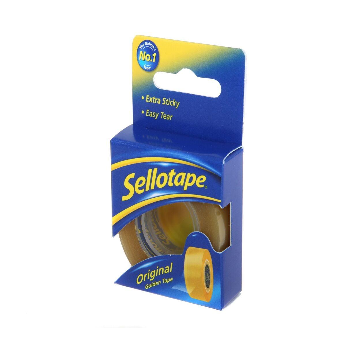 Sellotape Golden 18mm x 25m