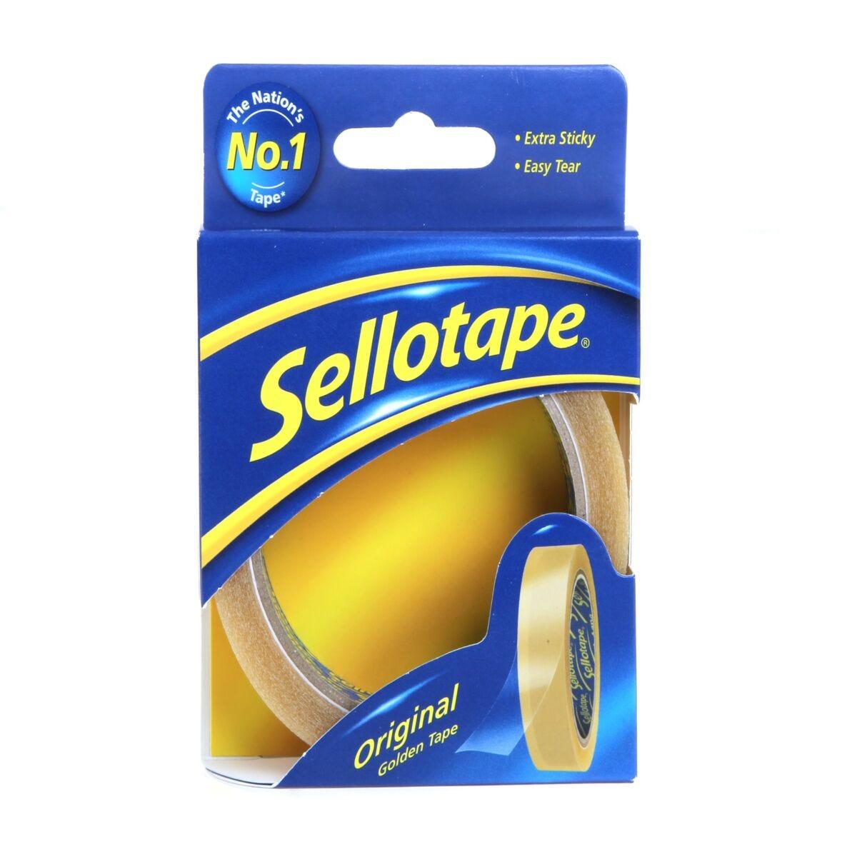 Sellotape Golden 24mm x 50m Clear