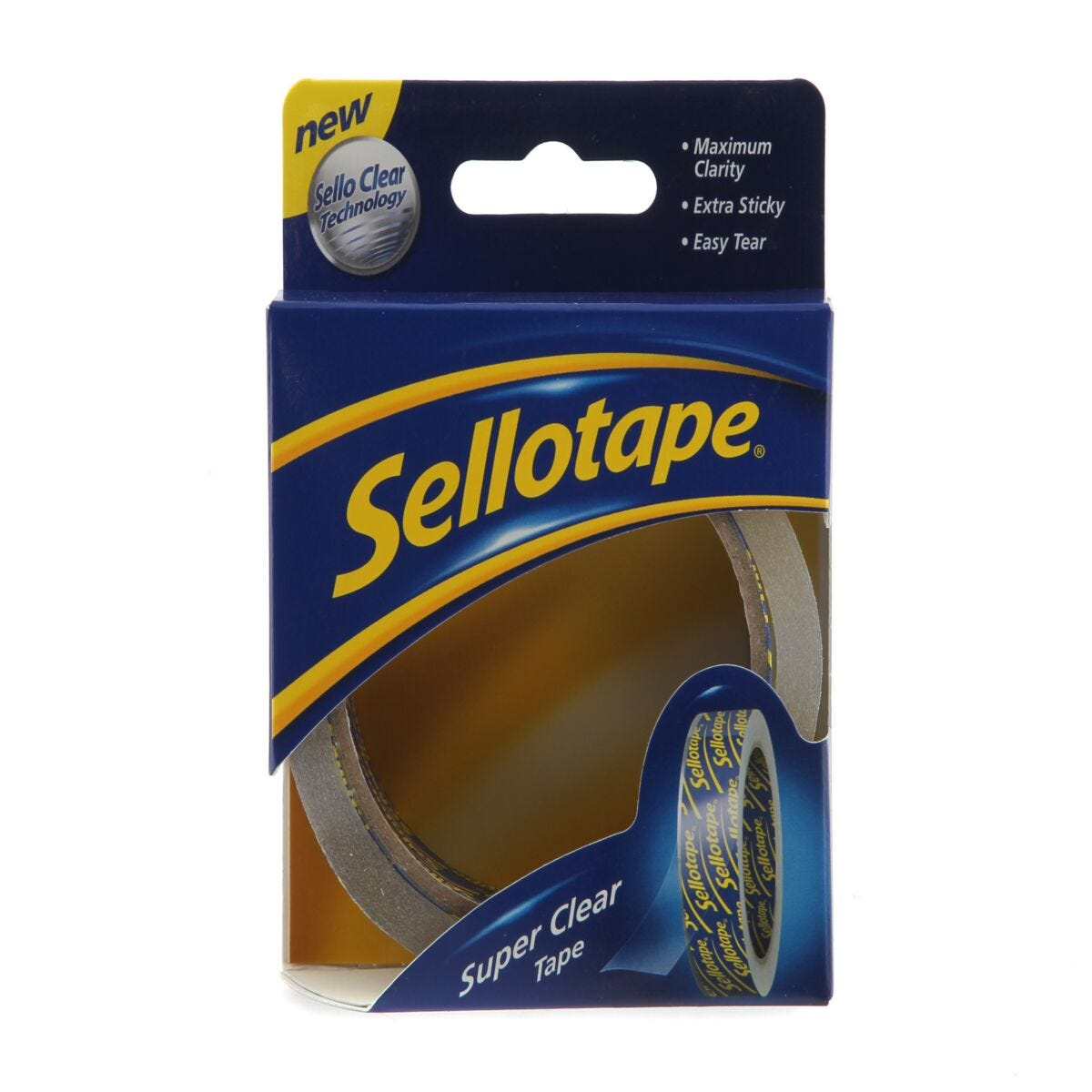 Sellotape Super Clear Roll 24mmx50m